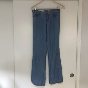 PILCRO & THE LETTERPRESS Wide Leg Jeans, Sz 26
